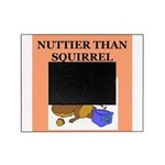 nutty squirrel poop Picture Frame
