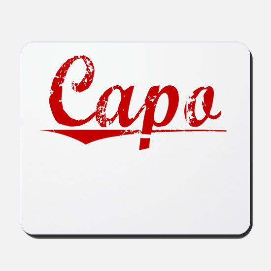 Capo, Vintage Red Mousepad