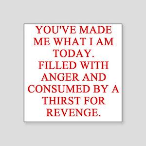 """revenge Square Sticker 3"""" x 3"""""""