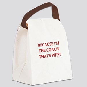 funny jokes sports co Canvas Lunch Bag