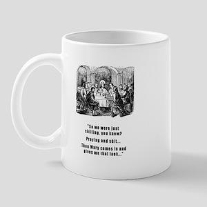 Jesus Chilling Mug