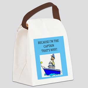 funny jokes sports captain boat boating Canvas Lun