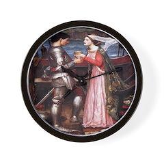 Tristan & Isolde Wall Clock