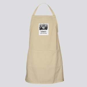 Jesus in trouble BBQ Apron