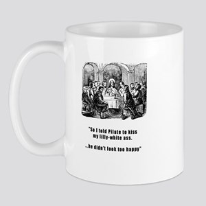 Jesus in trouble Mug