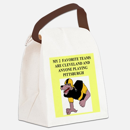 FOOTCALL.png Canvas Lunch Bag