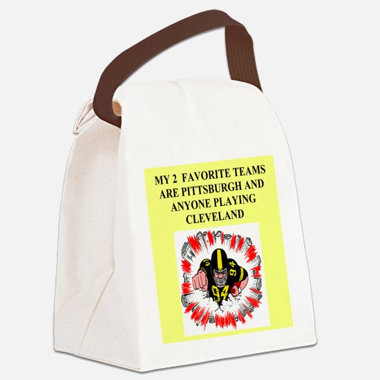 CLEVEPITT.png Canvas Lunch Bag