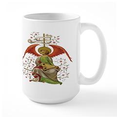 Medieval Angel Large Mug
