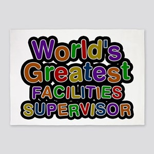 World's Greatest FACILITIES SUPERVISOR 5'x7' Area
