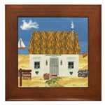 Seaside Cottage Framed Tile