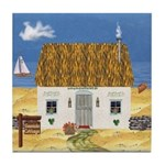 Seaside Cottage Ceramic Tile