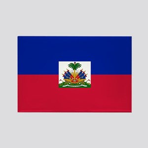 Flag of Haiti Rectangle Magnet