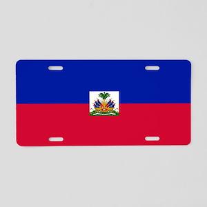 Flag of Haiti Aluminum License Plate
