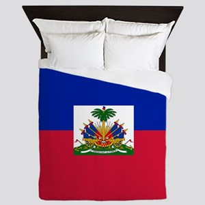 Flag of Haiti Queen Duvet
