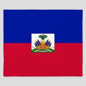Flag of Haiti King Duvet