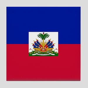 Flag of Haiti Tile Coaster