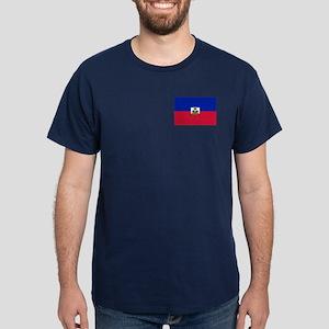 Flag of Haiti Dark T-Shirt