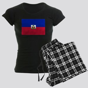 Flag of Haiti Women's Dark Pajamas