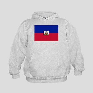 Flag of Haiti Kids Hoodie
