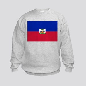 Flag of Haiti Kids Sweatshirt