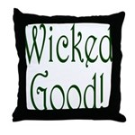Wicked Good! Throw Pillow