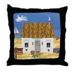 Seaside Cottage Throw Pillow