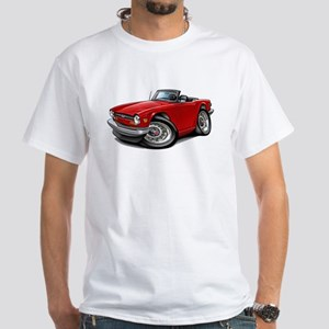 Triumph TR6 Red Car T-Shirt