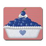 Blueberries 'n Cream Mousepad