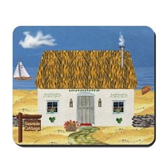 Seaside Cottage Mousepad