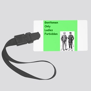 golf gifts Large Luggage Tag
