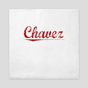 Chavez, Vintage Red Queen Duvet