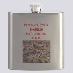 bagels and lox Flask