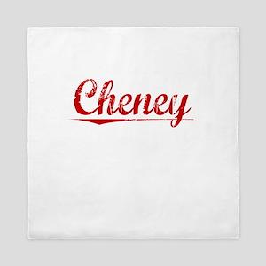Cheney, Vintage Red Queen Duvet