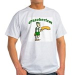 Oktoberfest...Grab Sausage Ash Grey T-Shirt