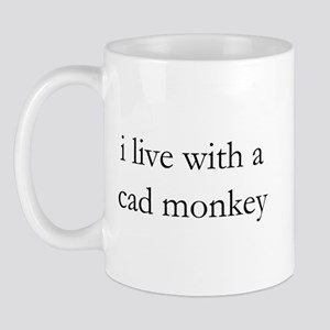 cad monkey live-in Mug