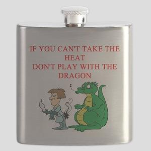 funny fantasy dragon knight joke Flask