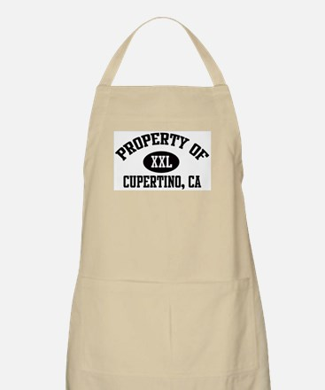 Property of CUPERTINO BBQ Apron
