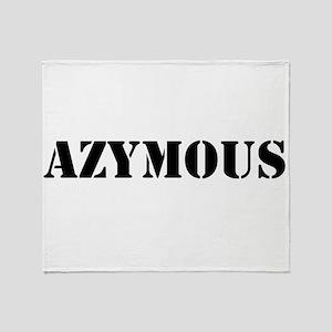 Azymous Throw Blanket