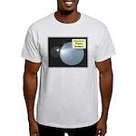 Pluto, ex-ninth Planet Ash Grey T-Shirt