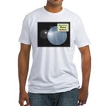 Pluto, ex-ninth Planet Fitted T-Shirt