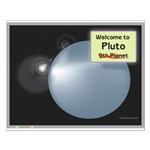 Pluto, ex-ninth Planet Small Poster