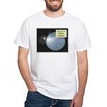Pluto, ex-ninth Planet White T-Shirt