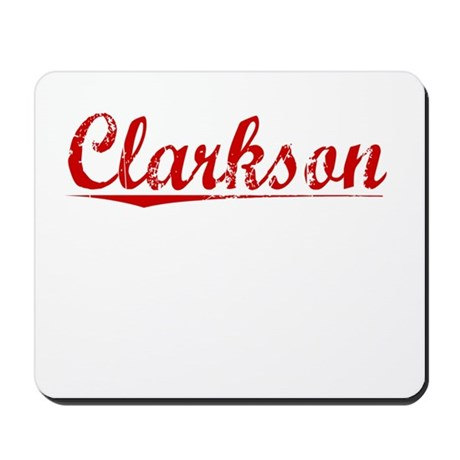 Clarkson, Vintage Red Mousepad
