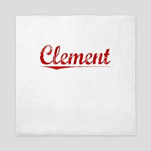 Clement, Vintage Red Queen Duvet