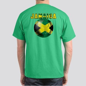 Jamaican Football Dark T-Shirt