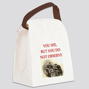 HOLMES22 Canvas Lunch Bag
