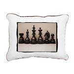 Chess Family Rectangular Canvas Pillow