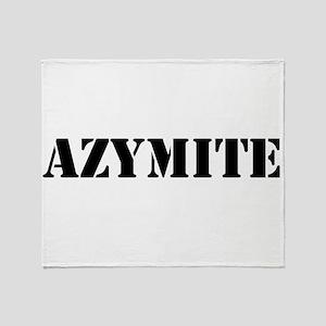 Azymite Throw Blanket
