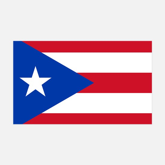 Puerto Rican Flag Wall Decal