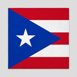 Puerto Rican Flag Queen Duvet